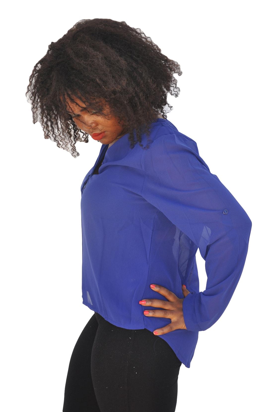M0225 blue4 Blouses Tops Shirts maureens.com boutique