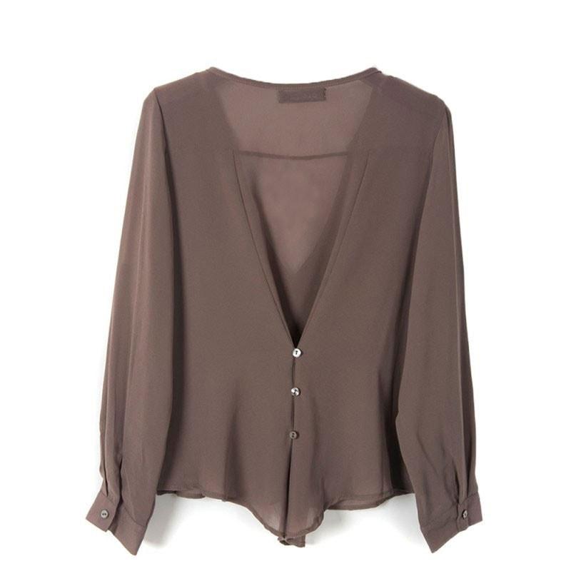 M0225 gray5 Blouses Tops Shirts maureens.com boutique