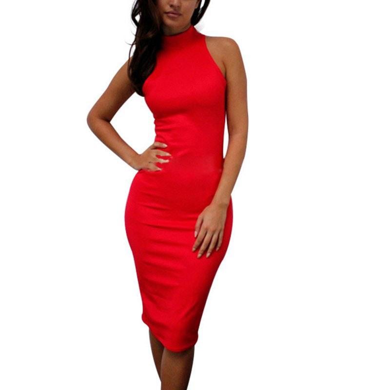 M0227 red4 Bodycon Dresses maureens.com boutique