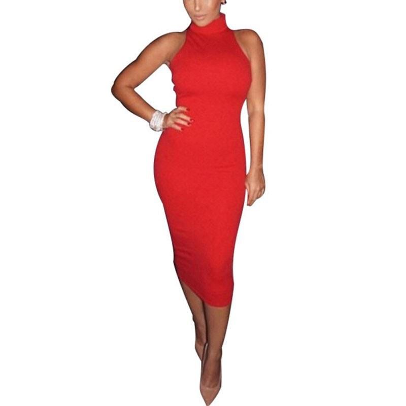 M0227 red5 Bodycon Dresses maureens.com boutique