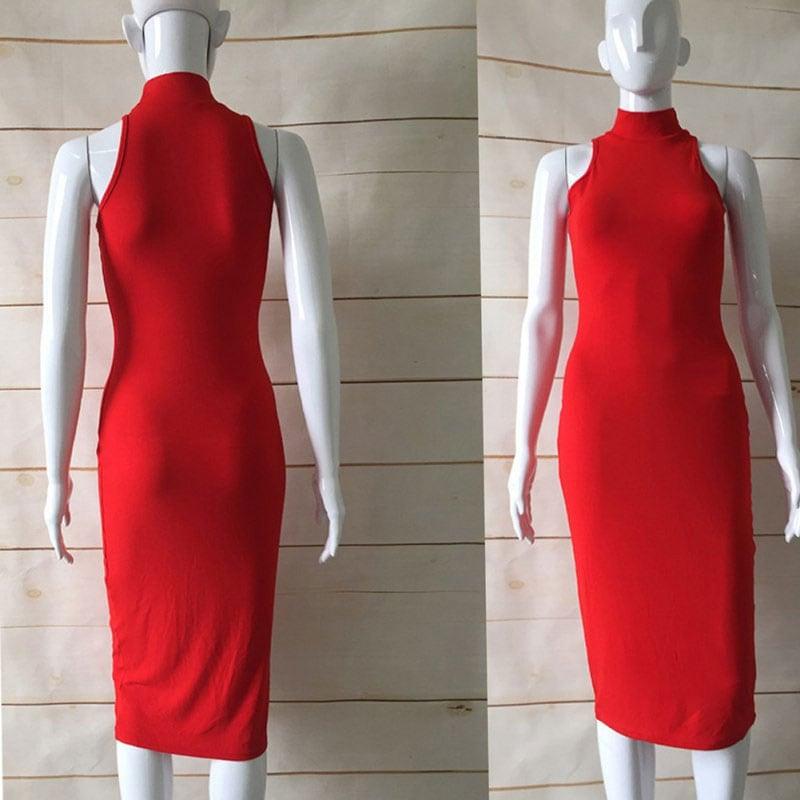 M0227 red8 Bodycon Dresses maureens.com boutique