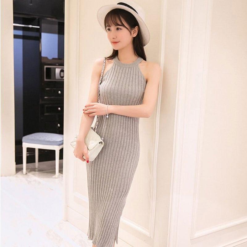 M0228 gray6 Maxi Dresses maureens.com boutique