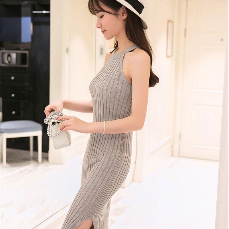 M0228 gray8 Maxi Dresses maureens.com boutique
