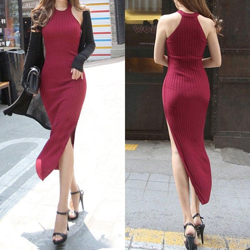 M0228 red1 Maxi Dresses maureens.com boutique