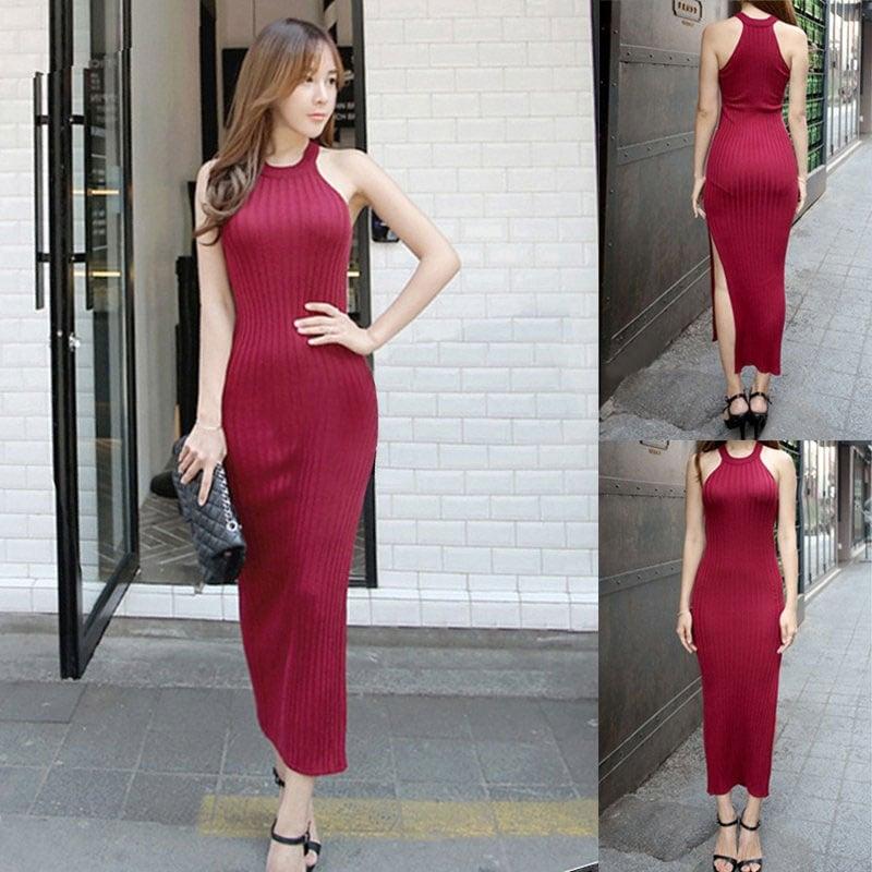 M0228 red2 Maxi Dresses maureens.com boutique
