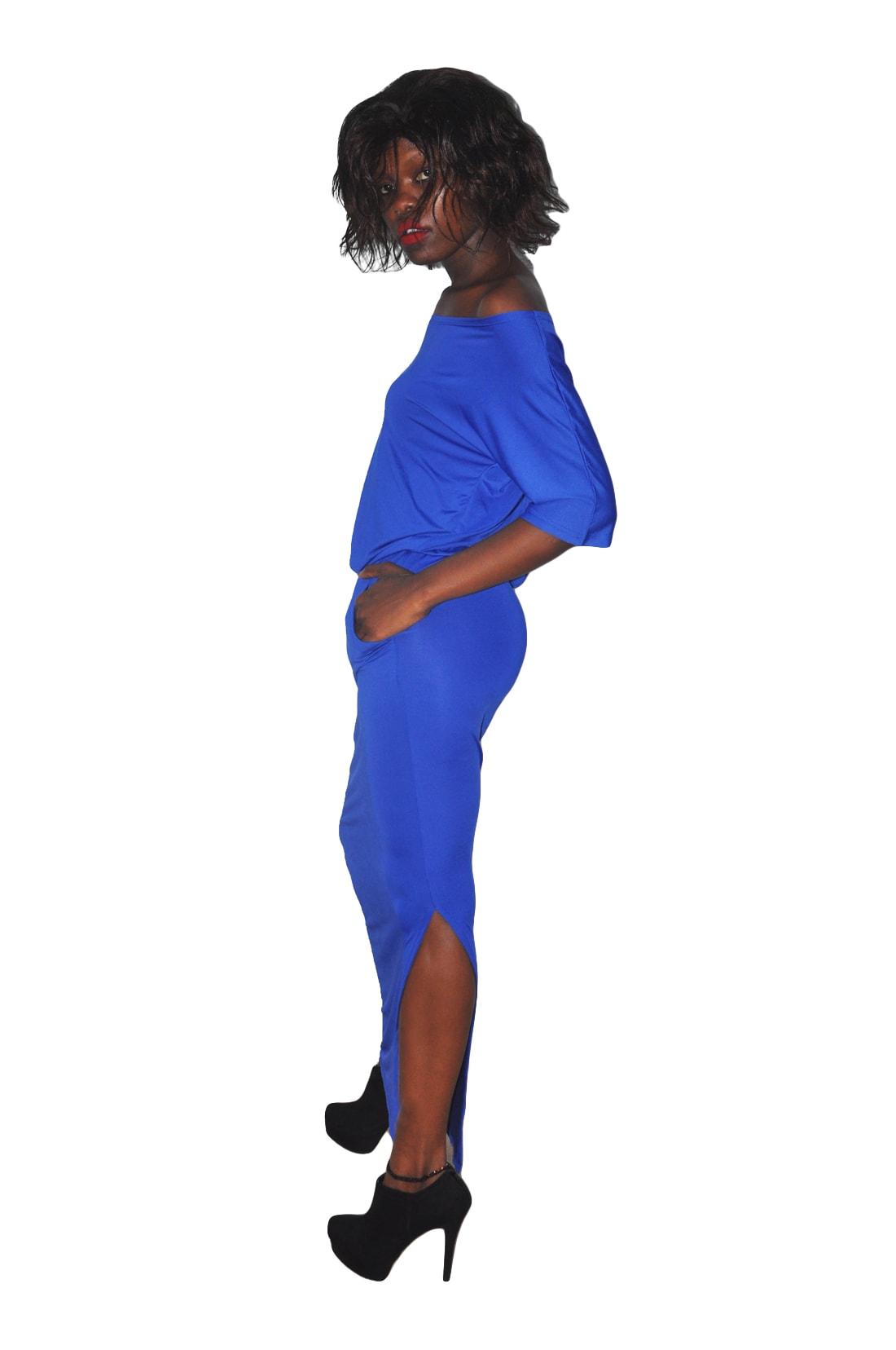 M0229 blue2 Maxi Dresses maureens.com boutique