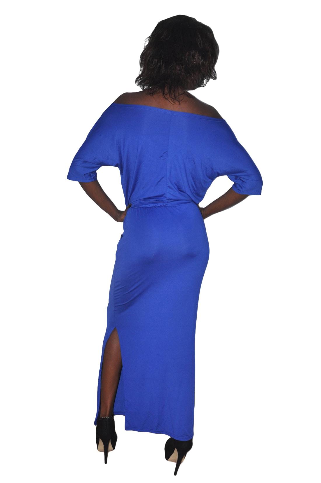 M0229 blue3 Maxi Dresses maureens.com boutique