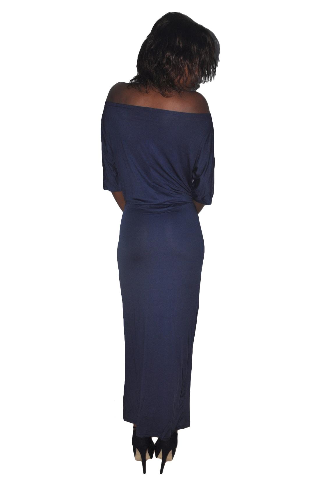 M0229 darkblue3 Maxi Dresses maureens.com boutique