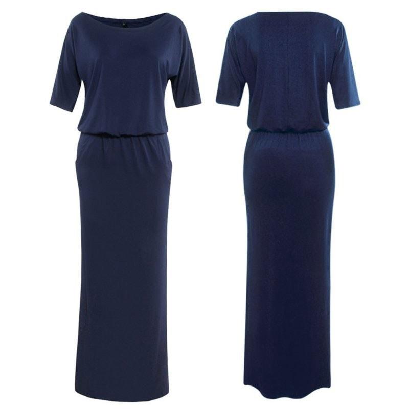 M0229 darkblue4 Maxi Dresses maureens.com boutique