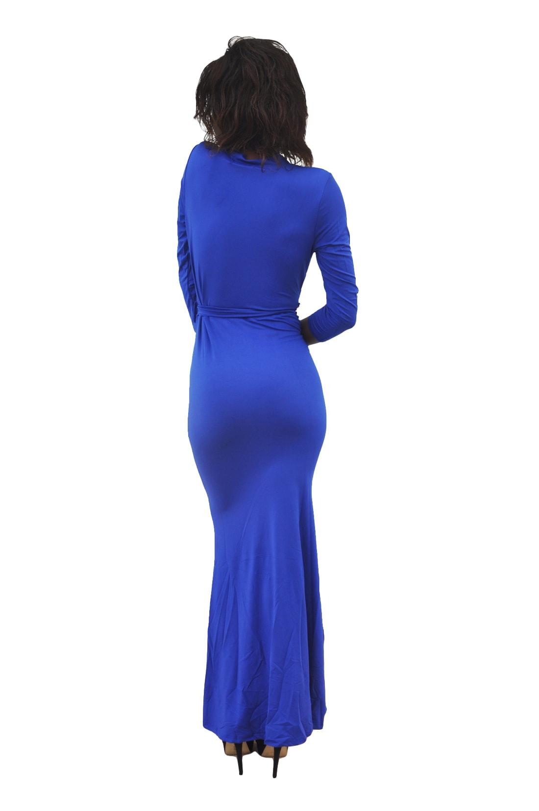 M0230 blue3 Long Sleeve Dresses maureens.com boutique