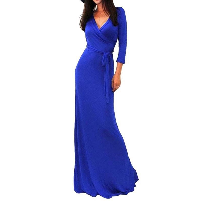 M0230 blue4 Long Sleeve Dresses maureens.com boutique