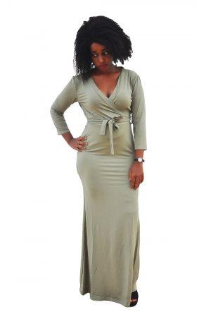 M0230 green1 Leisure Dresses maureens.com boutique