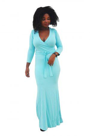 M0230 skyblue1 Leisure Dresses maureens.com boutique