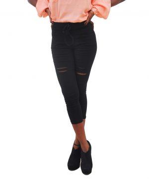 M0232 black1 Jeans Pants Leggings Belts maureens.com boutique