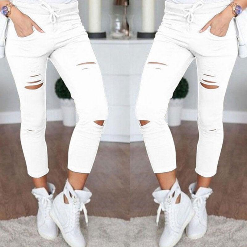 M0232 white1 Jeans Pants Leggings Belts maureens.com boutique