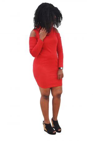 M0233 red1 Party Dresses maureens.com boutique