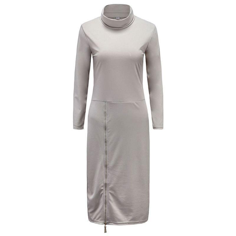 M0234 gray1 Maxi Dresses maureens.com boutique