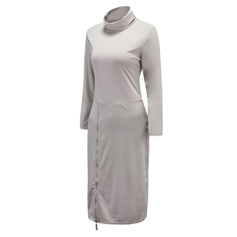 M0234 gray2 Maxi Dresses maureens.com boutique
