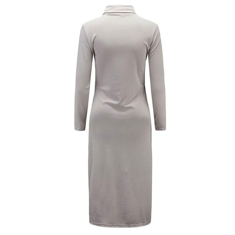 M0234 gray3 Maxi Dresses maureens.com boutique