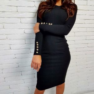 M0235 black1 Office Evening Dresses maureens.com boutique