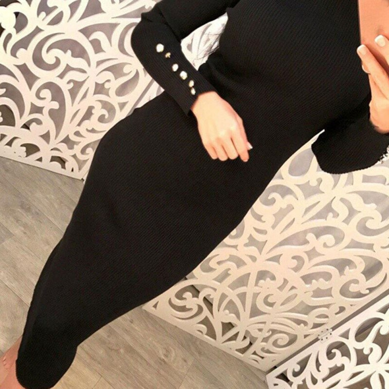 M0235 black3 Office Evening Dresses maureens.com boutique