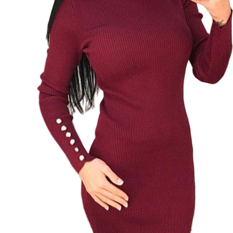 M0235 red2 Office Evening Dresses maureens.com boutique