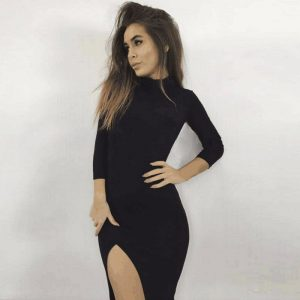 M0236 black1 Long Sleeve Dresses maureens.com boutique