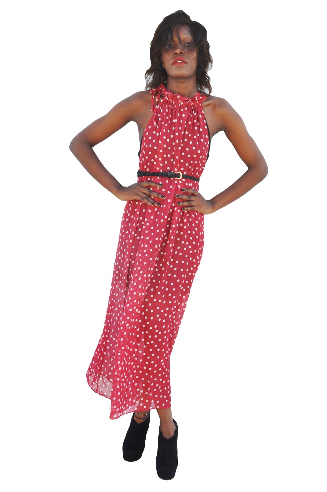 M0245 red1 Maxi Dresses maureens.com boutique