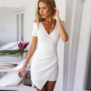 M0246 white1 High Low Dresses maureens.com boutique