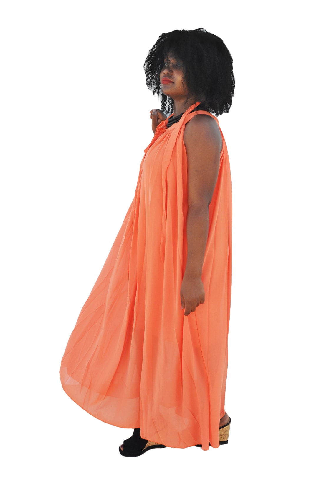 M0247 orange2 Wedding Bridesmaid Dresses maureens.com boutique