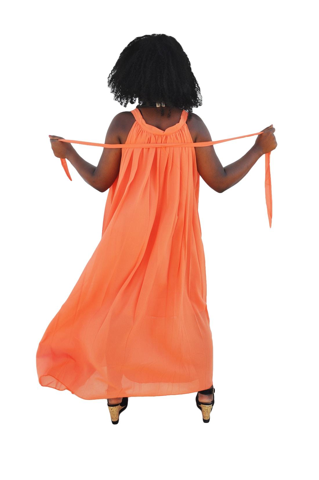 M0247 orange3 Wedding Bridesmaid Dresses maureens.com boutique
