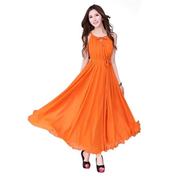 M0247 orange4 Wedding Bridesmaid Dresses maureens.com boutique