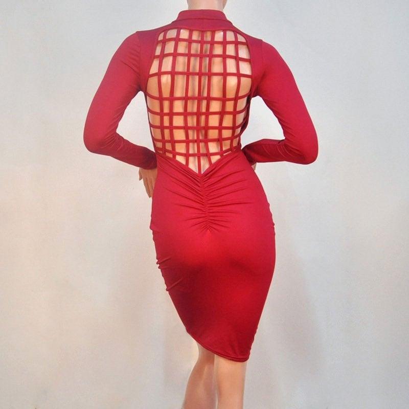 M0250 red4 Bodycon Dresses maureens.com boutique