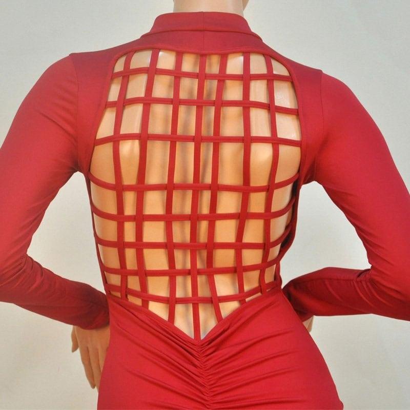 M0250 red5 Bodycon Dresses maureens.com boutique