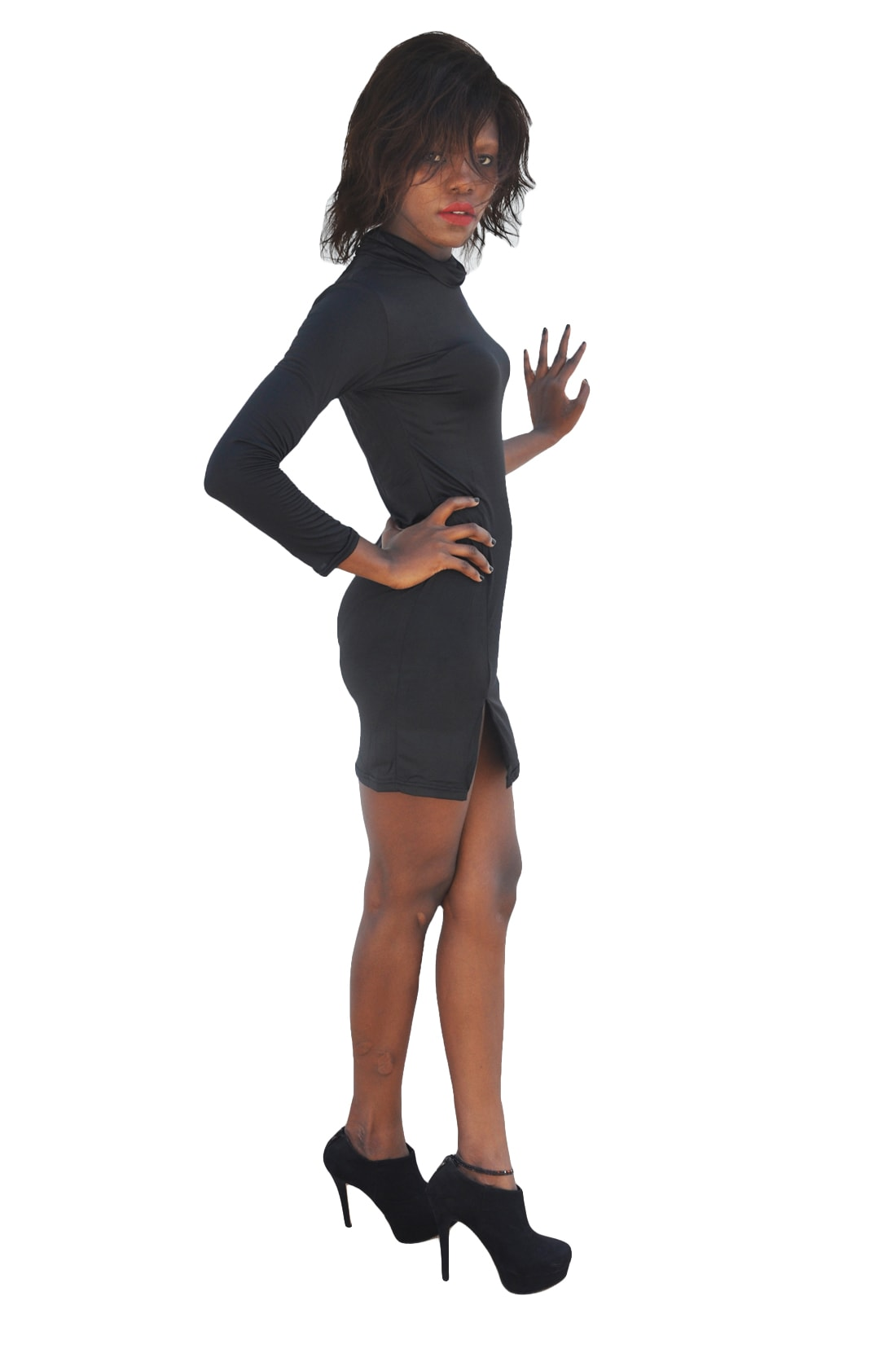 M0251 black2 Sleeveless Dresses maureens.com boutique