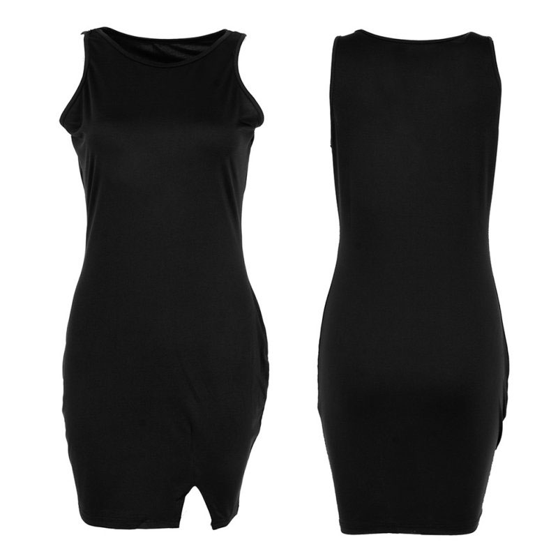 M0251 black5 Sleeveless Dresses maureens.com boutique