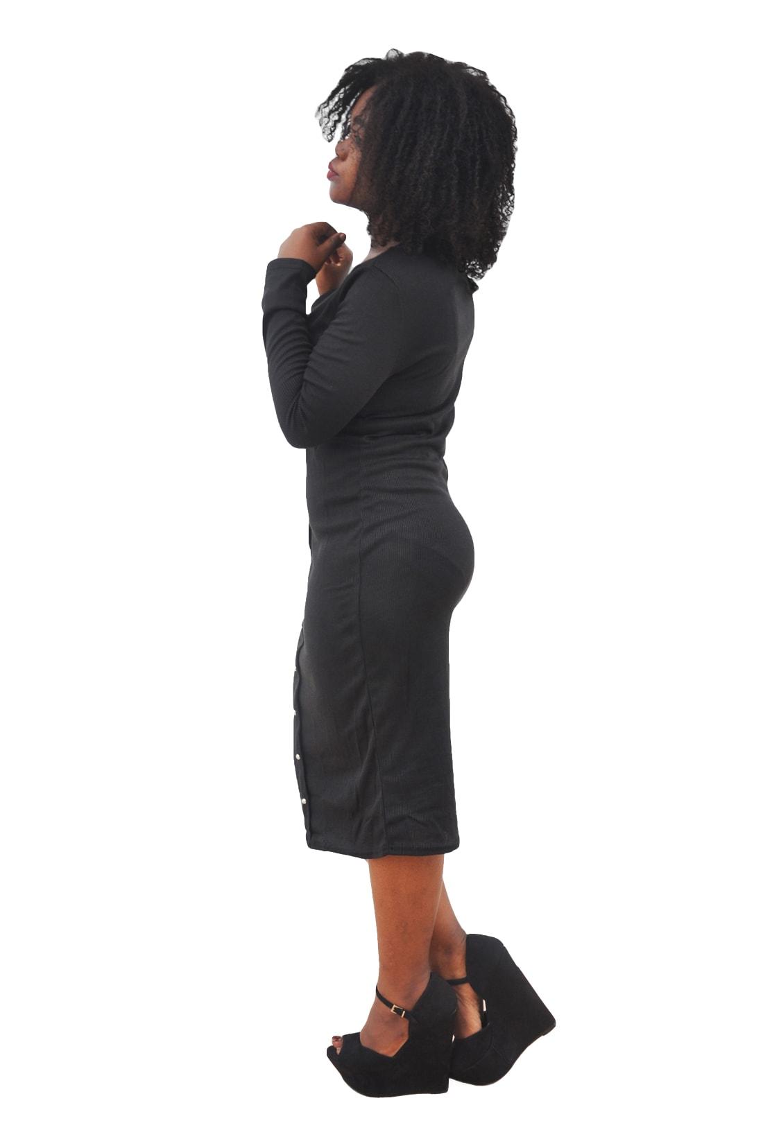 M0253 black2 Office Evening Dresses maureens.com boutique