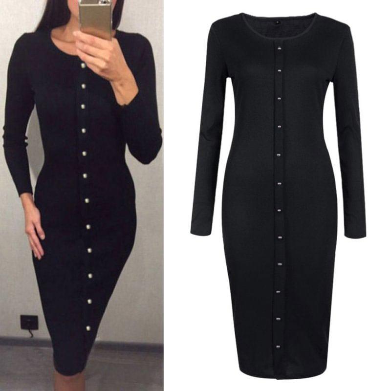 M0253 black4 Office Evening Dresses maureens.com boutique
