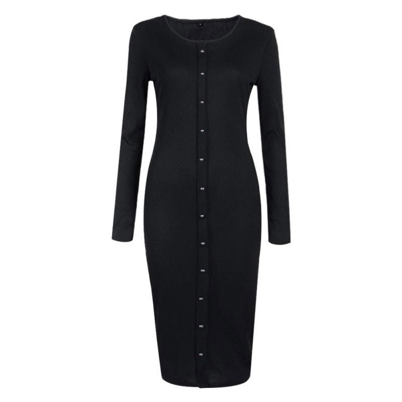 M0253 black6 Office Evening Dresses maureens.com boutique