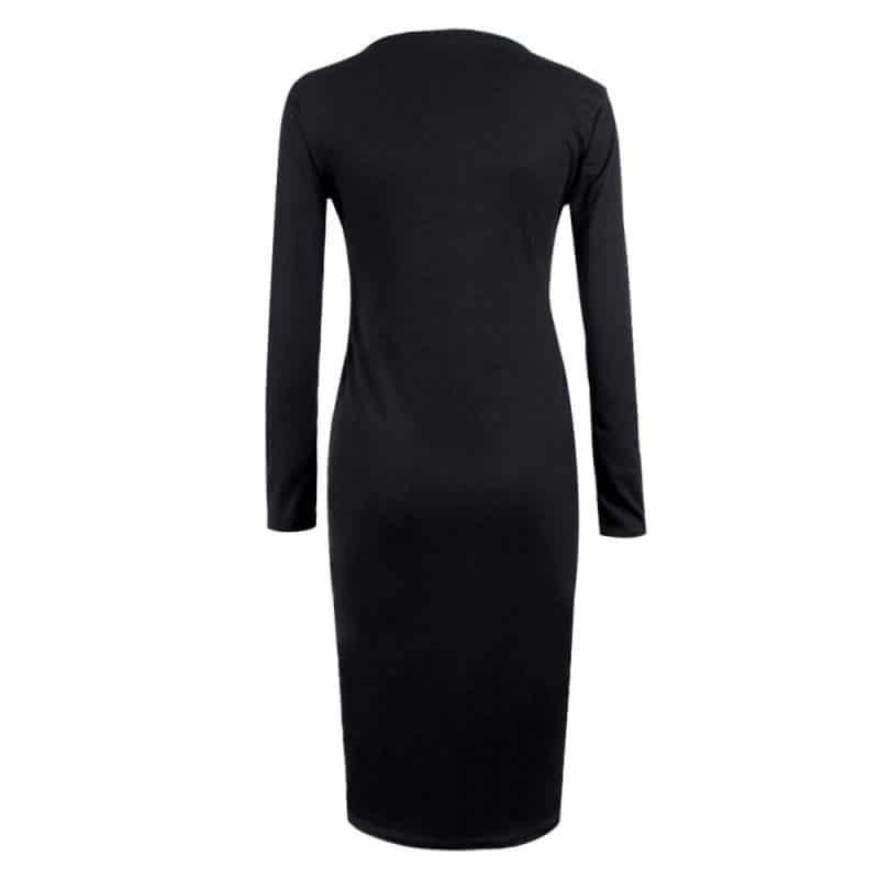 M0253 black7 Office Evening Dresses maureens.com boutique