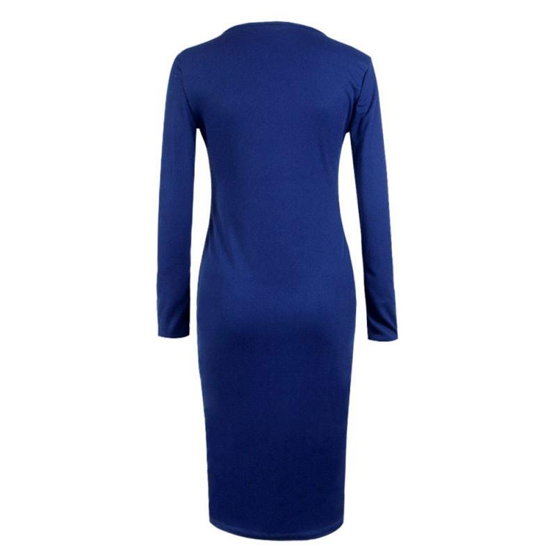 M0253 blue4 Office Evening Dresses maureens.com boutique