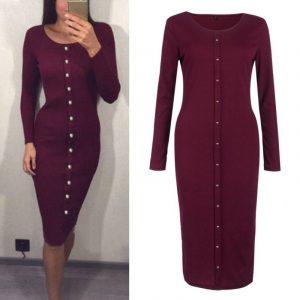 M0253 bordeaux1 Office Evening Dresses maureens.com boutique