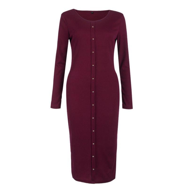M0253 bordeaux3 Office Evening Dresses maureens.com boutique