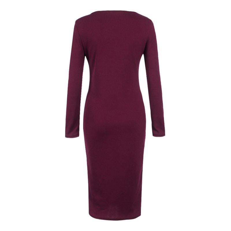 M0253 bordeaux4 Office Evening Dresses maureens.com boutique