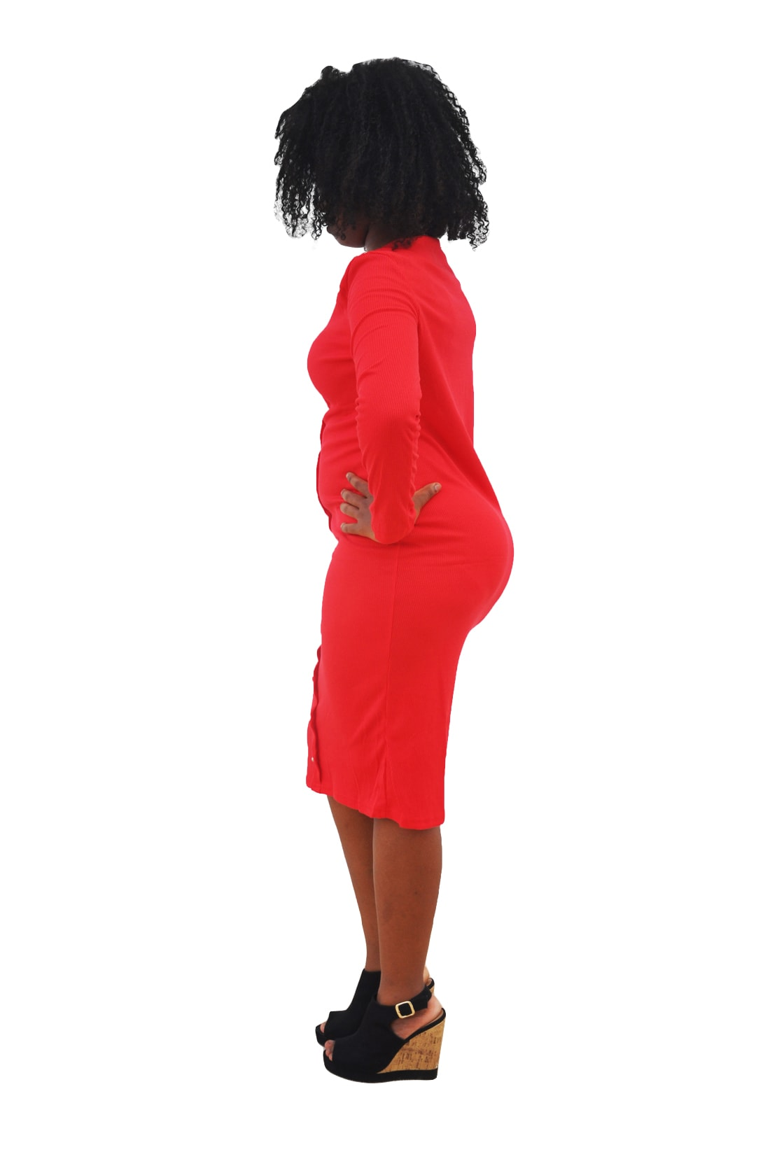 M0253 red2 Office Evening Dresses maureens.com boutique