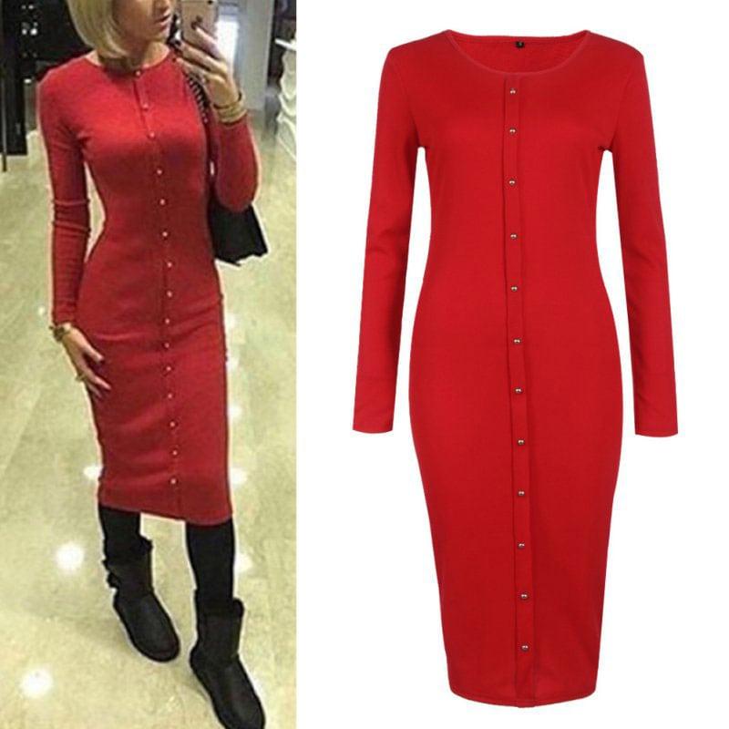 M0253 red4 Office Evening Dresses maureens.com boutique