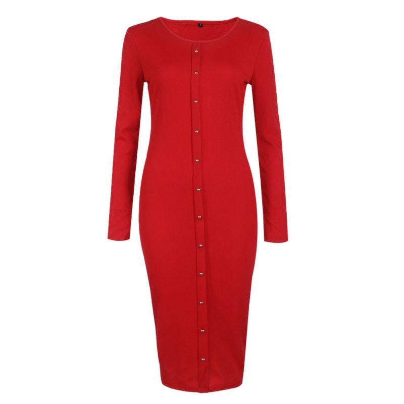 M0253 red5 Office Evening Dresses maureens.com boutique
