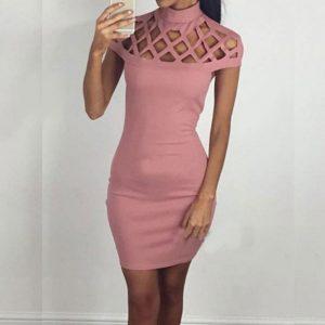 M0256 rose1 Sleeveless Dresses maureens.com boutique
