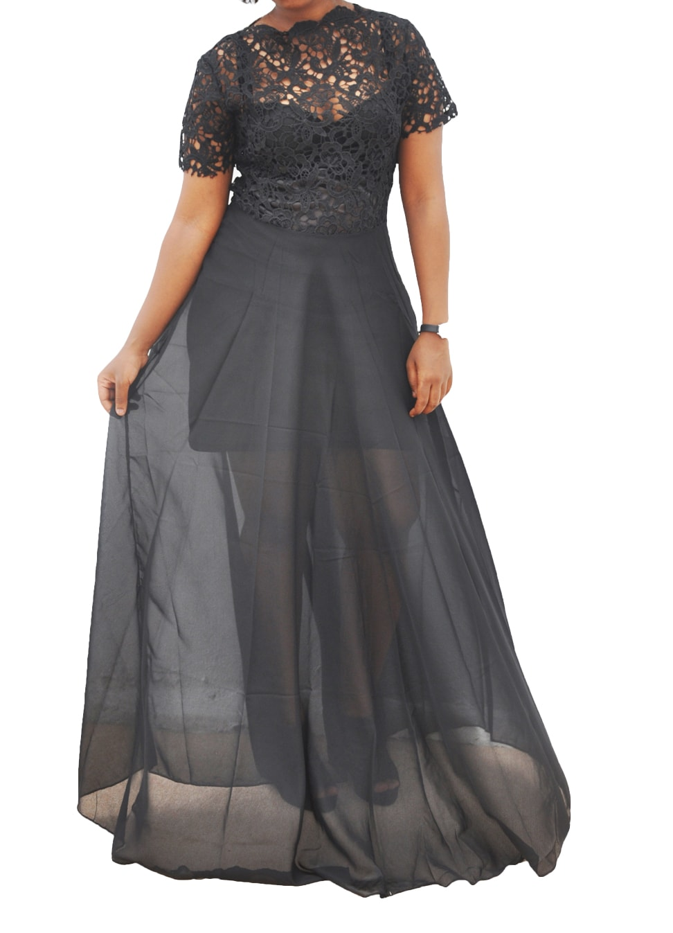 M0263 black1 Maxi Dresses maureens.com boutique