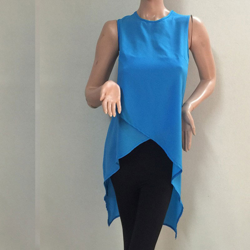 M0264 blue4 Blouses Tops Shirts maureens.com boutique